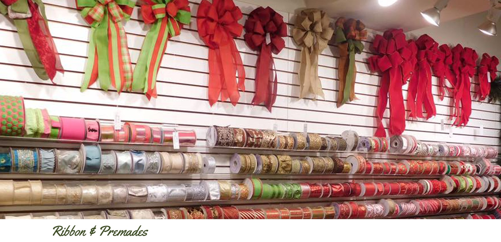 Ribbon & Premade Bows